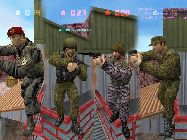 Counter-Strike 1.6 Russian Specnaz Русский СпецНаз это версия игры, полност